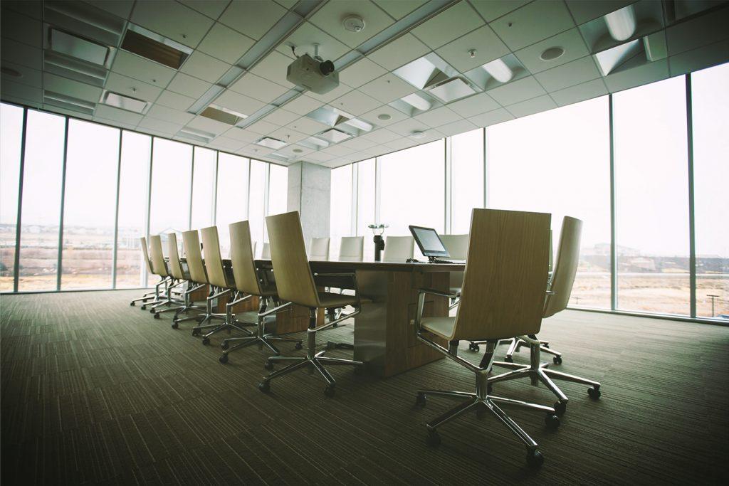 a boardroom office